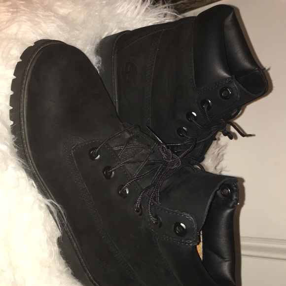 Timberland Shoes - Black Timberlands